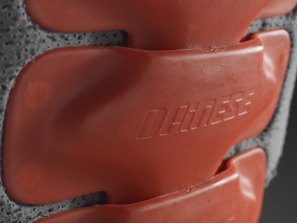 The first Dainese back protector